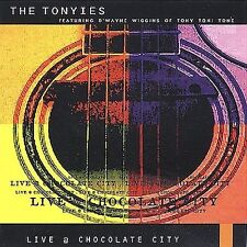 The Tonyies Live @ Chocolate City * CD, Brand New & Sealed