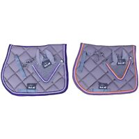 Saddle Pad With Matching Fly Veil Set