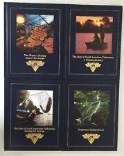Lot of 4 NAFC North American Fishing Club Books Bass Freshwater Tips