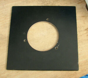 pattern sinar  F & P Norma fit  lens board panel with copal compur 3  hole 64mm