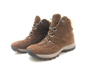 Timberland Damen Stiefel Stiefeletten Ankle Boots Komfortschuhe Braun Gr. 39,5
