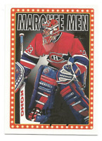 1995-96 Topps #377 Patrick Roy Montreal Canadiens MM