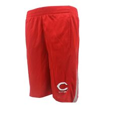 Cincinnati Reds Official MLB Genuine Kids Youth Size Athletic Shorts New Tags