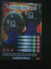 Dr who battles in time test card number 36 platform one staff