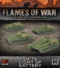 Flames of War BNIB SU-76 Light SP Battery SBX61