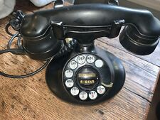 WESTERN ELECTRIC, E1, D1, 1920s ROTARY DIAL PHONE, ART DECO