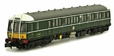 Dapol Class 122 Bubble Car BR Green Small Yellow Panel 4D-015-005  Free Shipping