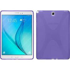 Funda de silicona Samsung Galaxy Tab A 9.7 X-Style púrpura