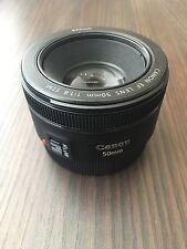 Canon EF 50mm f/1.8 STM AF Lens
