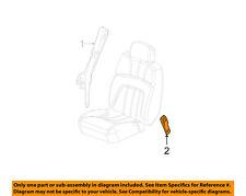 GM OEM Front Seat Belt-Buckle End 19148785