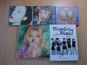 Wonder Girls SUNMI OLD (Promo) with Autographed (Signed)