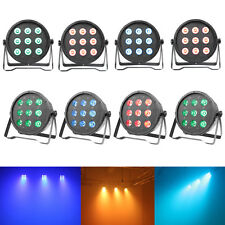 8 x DJ Par Uplighting RGBW LED DMX Color Mixing Stage Light Wall Washer