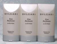 3 Pc LOT-- Bvlgari Eau Parfumee Au The Blanc 7.5oz (3X2.5oz) Unisex Shampoo