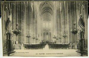 France Nantes Interieur de la Cathedrale - unposted