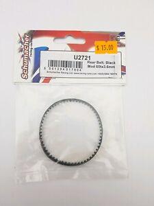 Schumacher RC Rear Belt Black 60tx3.6mm  #U2721 ls OZRC