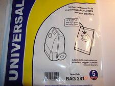 VACUUM BAGS Universal Adaptor Bag Fits most models BAG281