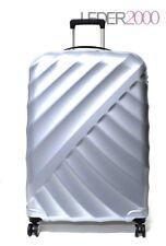 Titan Koffer Shooting Star 4 Rollen Trolley 77 cm L Silber Reise leicht TSA
