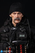 "DID Action Figure 1/6 12"" BRITISH SAS Sean Black Ops Jouet Dragon Cyber Hot Toys"