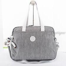 Nwt New Kipling Ki1080 Popper Diaper Bag Changing Pad Polyester Shaded Grey $159