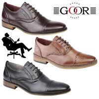 Goor 'Grantham' Kids Oxford Brogues Boys Girls Smart Formal Back To School Shoes
