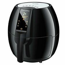 Touch Control Air Fryer, 3.7Qt 1500W, Comes with Recipes Cook Book FrenchMay
