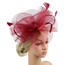 Feather Fascinators Womens Flower Derby Hat for Cocktail Ball Wedding  Church UK