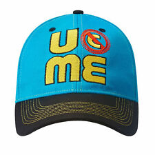 WWE AUTHENTIC JOHN CENA Blue Throwback U Can't See Me Baseball Cap Hat BRAND NEW