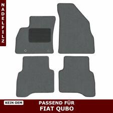 Vasca tappeto baule FIAT Qubo 08/> su misura in GOMMA inodore no metano