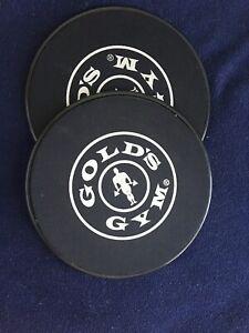 Gold's Gym Black Glide Discs