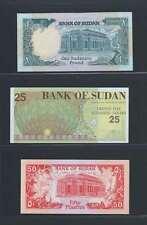 Afrique Ancien Mali  SOUDAN Lot de 3 billets différents  en état NEUF   Lot N° 5
