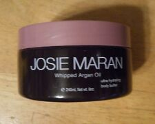 8oz JOSIE MARAN WHIPPED ARGAN OIL HYDRATING BODY BUTTER SWEET HOLLY unsealed