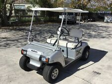 silver club car DS 36 volt 2 passenger seat golf cart with new batteries