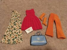 Assorted vintage clothing lot - clone / homemade - 1960s - Air France Bag