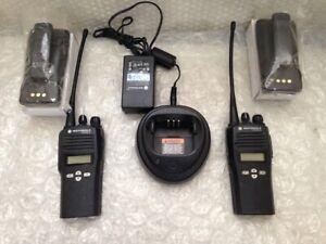Lot of 2 Motorola CP200XLS Radio AAH50RDF9AA5AN