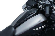 Kuryakyn Black Smooth Dash Console by Jim Nasi For Harley Touring 2008-2017