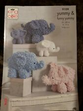 King Cole 9096 Joseph the Bear Crochet Pattern