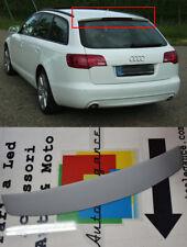 LOOK S6 SLINE PER AUDI A6 4F C6 2004 - 2011 SPOILER POSTERIORE SUL TETTO