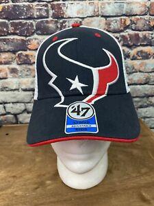 Houston Texans 47 MVP Snapback Blue Kids Youth Hat Cap Large Logo