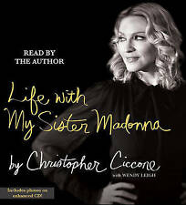 My Life With Sister MADONNA - 5 CD Audio Talking Book - Christopher Ciccone