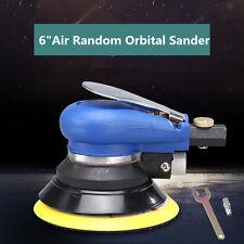 "6"" Air Random Orbital Palm Sander Auto Body Orbit DA Sanding LOW VIBRATION NEW"