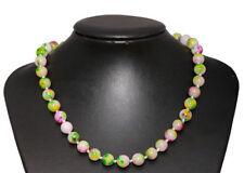 Agate Round Costume Necklaces & Pendants