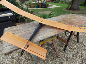 Veron Vortex Keil Kraft R/C free flight balsa model glider aircraft plane