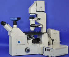 Zeiss Axiovert S100 Inverted Dic Differential Interference Contrast Fluorescence