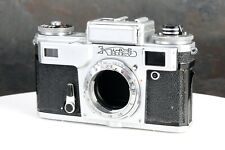 :Kiev 4M Type 4 35mm Film Rangefinder Contax Ussr Copy Camera Body - Works!