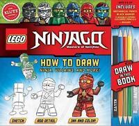 LEGO NINJAGO: How to Draw Ninja, Villains and More (Klutz) by Murphy, Pat, NEW B