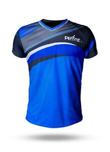 PPong COMO Table Tennis Shirts / Ping Pong Shirt,  Made in UK