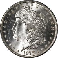 1878-S Morgan Silver Dollar PCGS MS65 Superb Eye Appeal Strong Strike