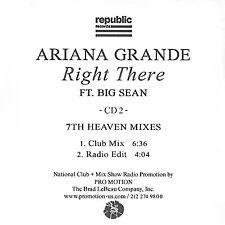 ARIANA GRANDE Right There (feat. Big Sean) 7th HEAVEN Club Mixes PROMO REMIX CD2