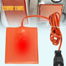120W Silicone Heater Pad Engine Heating Plate Oil Pan Sump Tank Oil Heater Pad