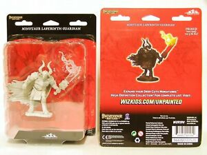 Pathfinder Deep Cuts Unpainted Miniatures W12: Minotaur Labyrinth Guardian NEW